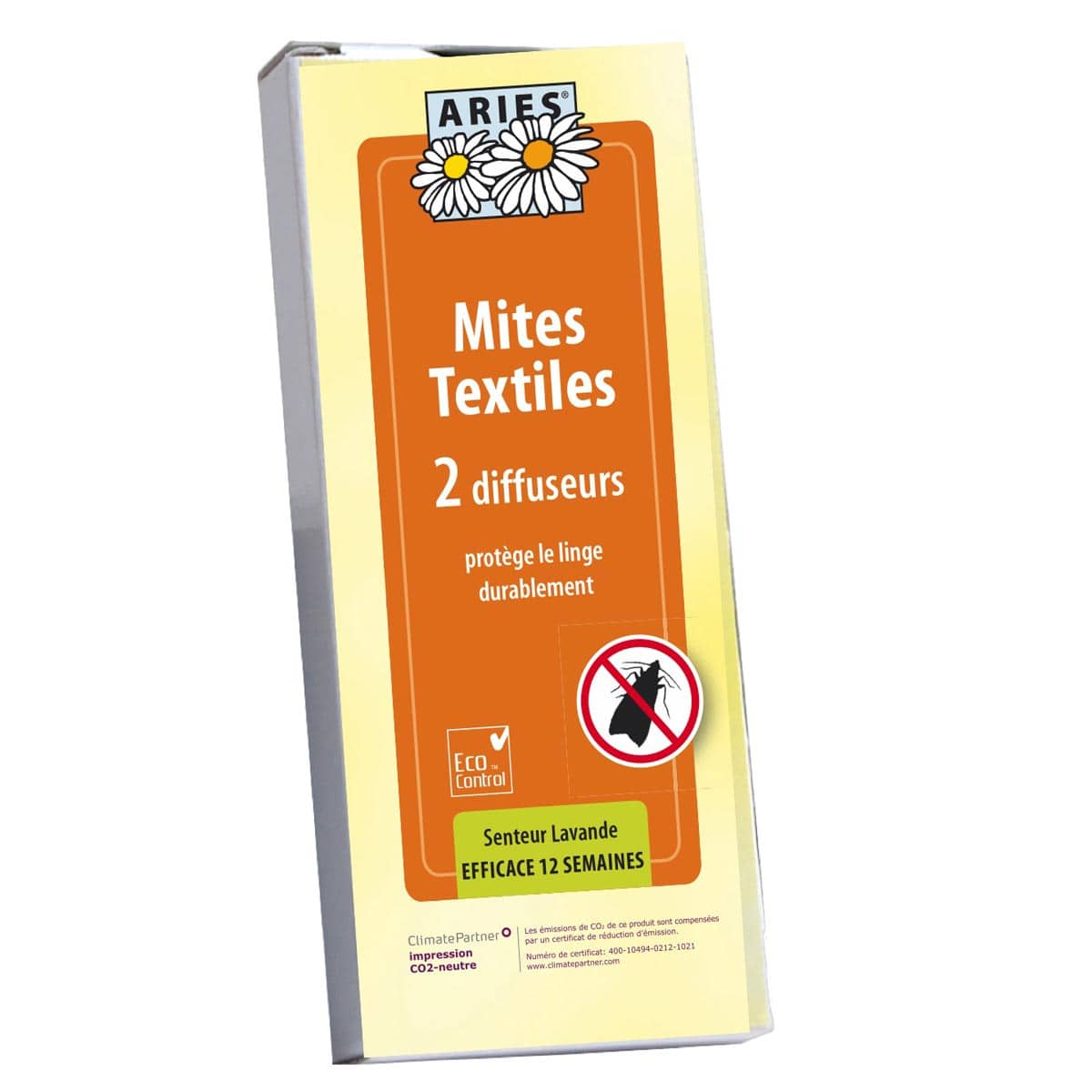 Traitement Mites Anti Mites Naturel Diffuseur Crochet 2pieces Traitement