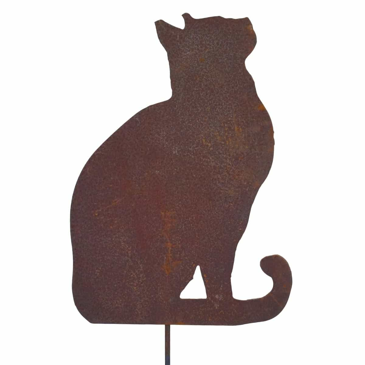 Personnage Decoration Jardin Silhouette Chat Regardant En L 39air Déco De Jardin En