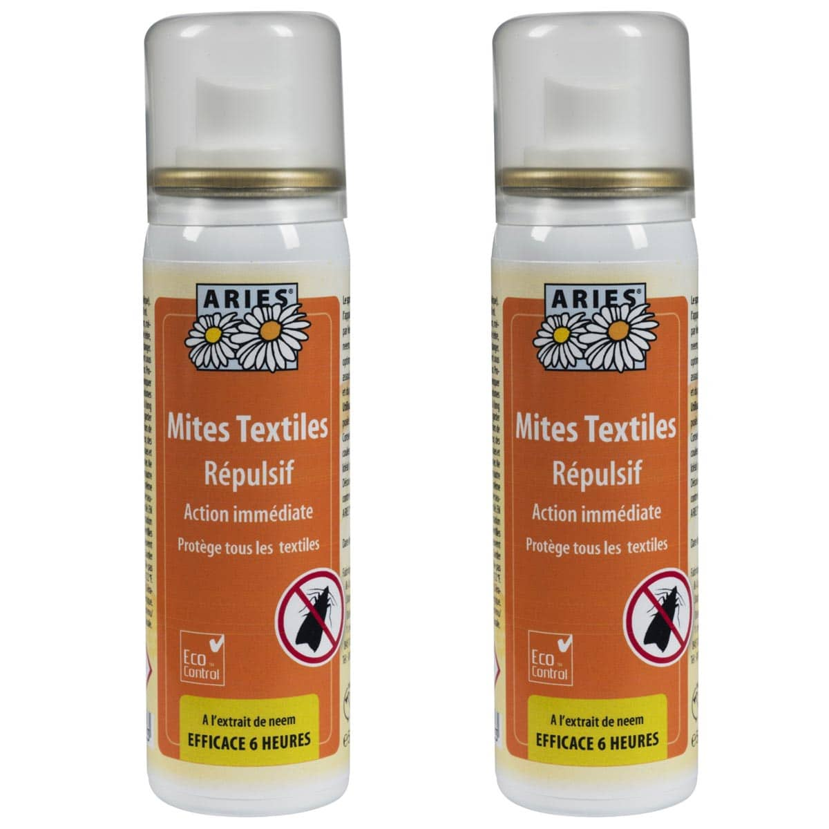 Traitement Mites Anti Mites Textiles Spray 50ml Lot De 2 Traitement Anti