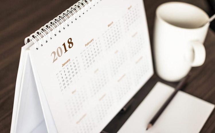 Calendrier 2018 au format Excel Modèles Excel Télèchargements