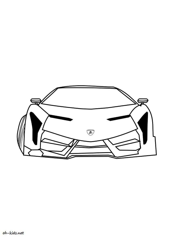 Coloriage Voiture Lamborghini Imprimer Auto Electrical Wiring Diagram
