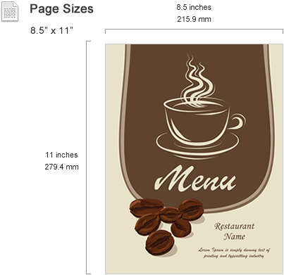 Menu Templates Features - SmileTemplates - free menu templates for microsoft word