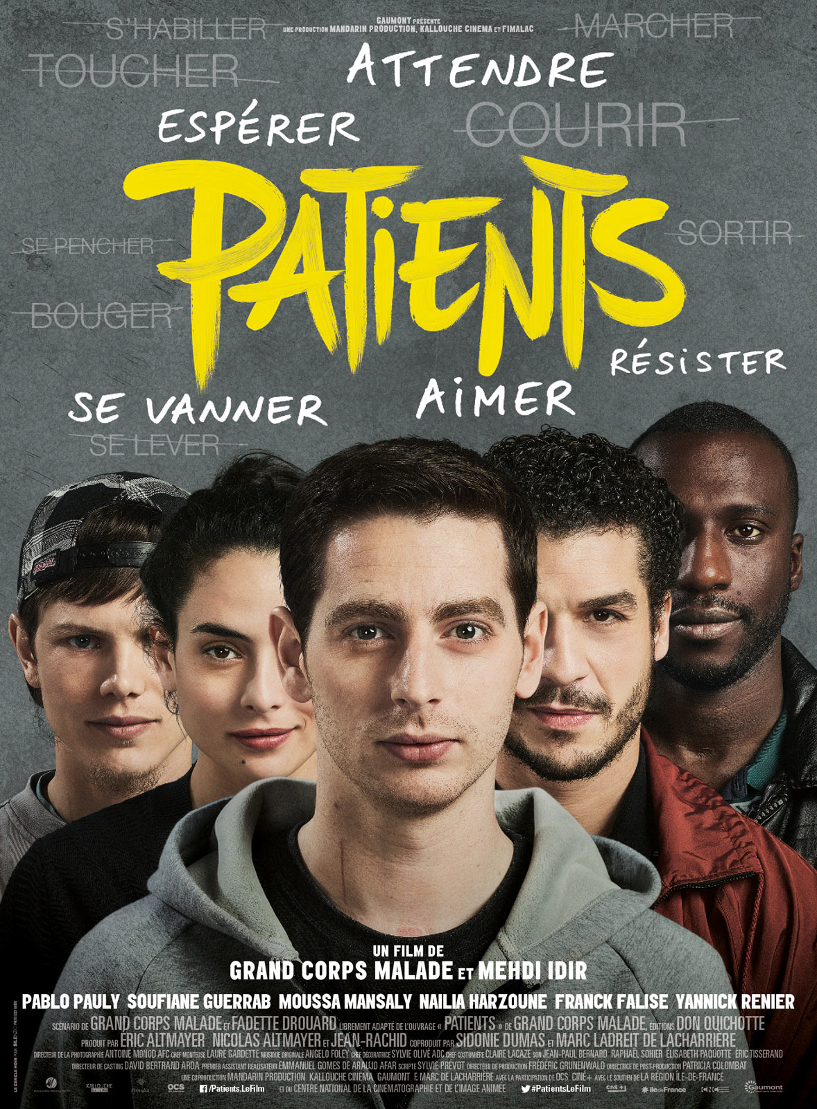 Affiche Fauteuils Patients Film 2017 Allociné