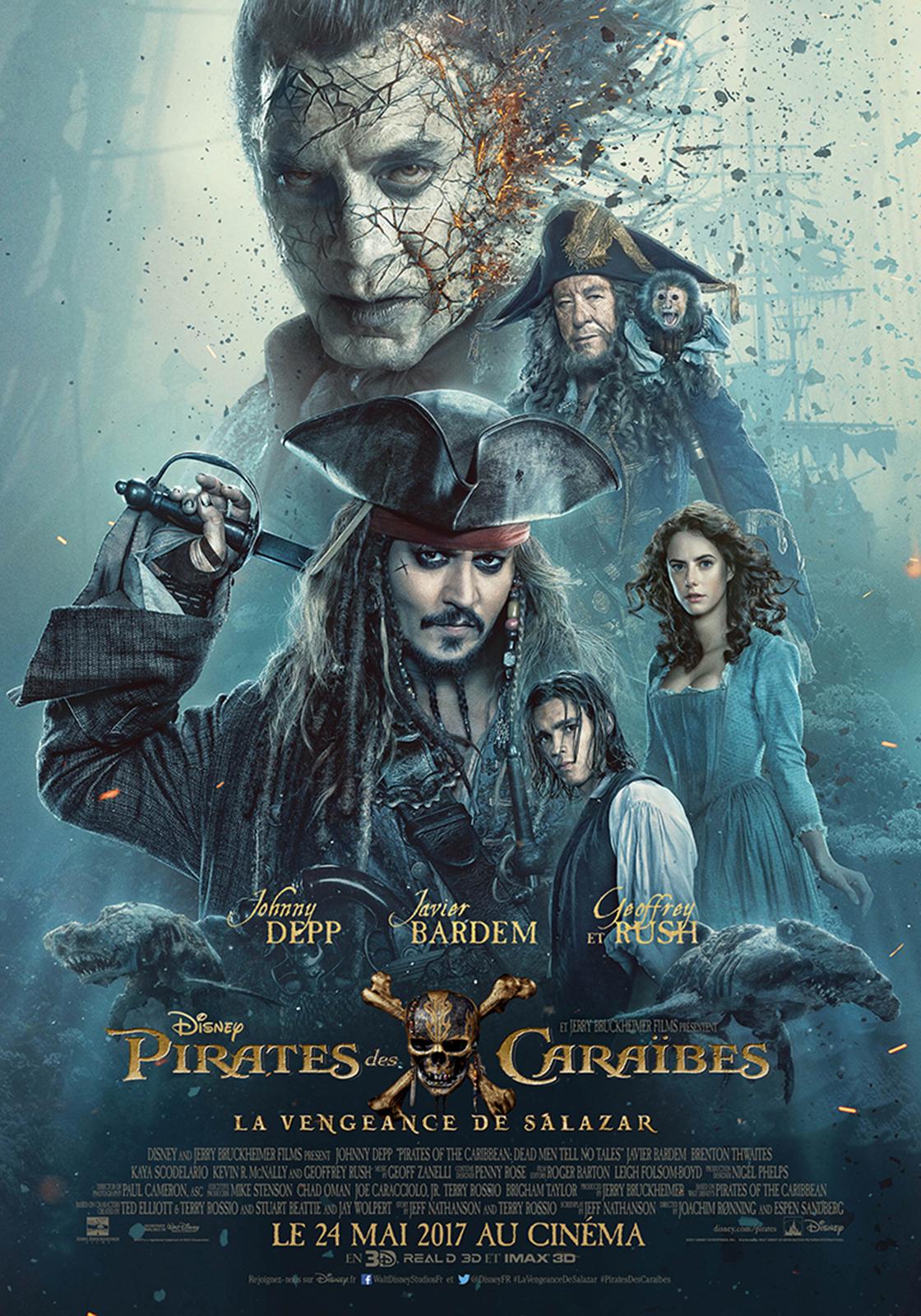 Pirates des Caraïbes : la Vengeance de Salazar Truefren ...