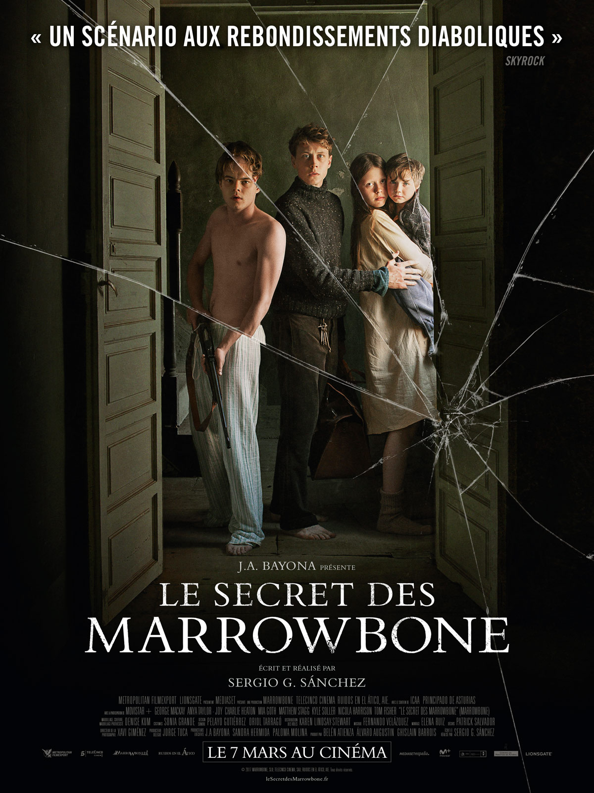 La Chambre Secrete Film Trailer Du Film Le Secret Des Marrowbone Le Secret Des