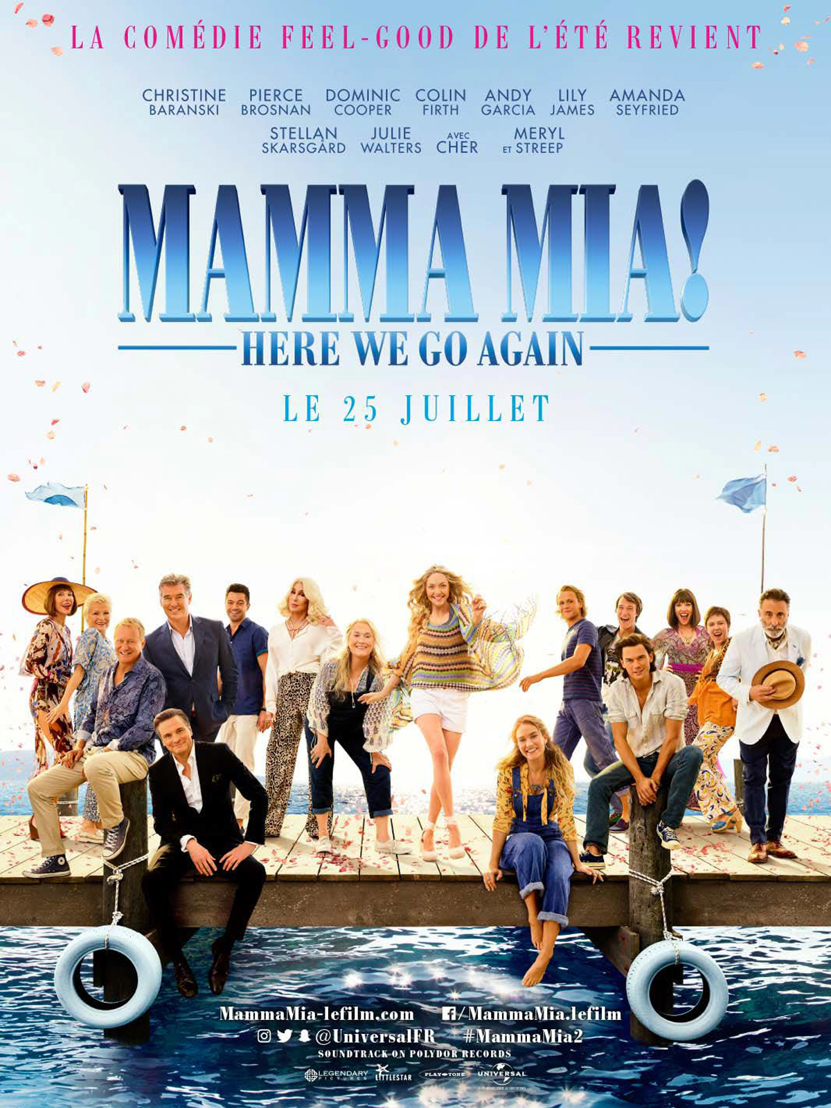 Mamma Mia! Here We Go Again Français BDRiP