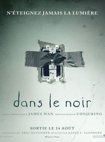 DANS LE NOIR : Affiche