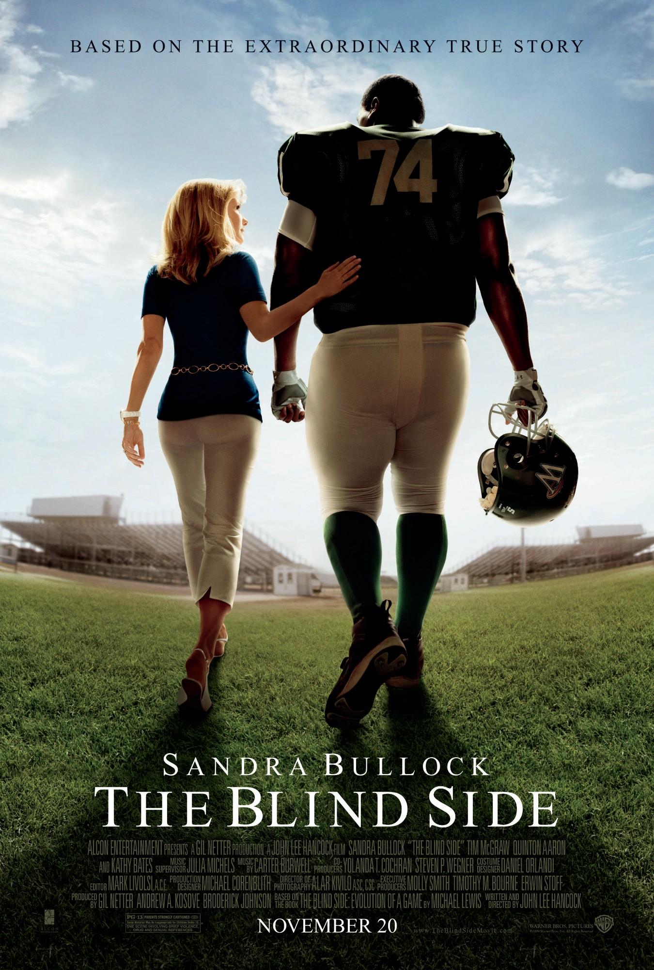 Mobile De Allemagne Affiche Du Film The Blind Side - Affiche 1 Sur 1 - Allociné