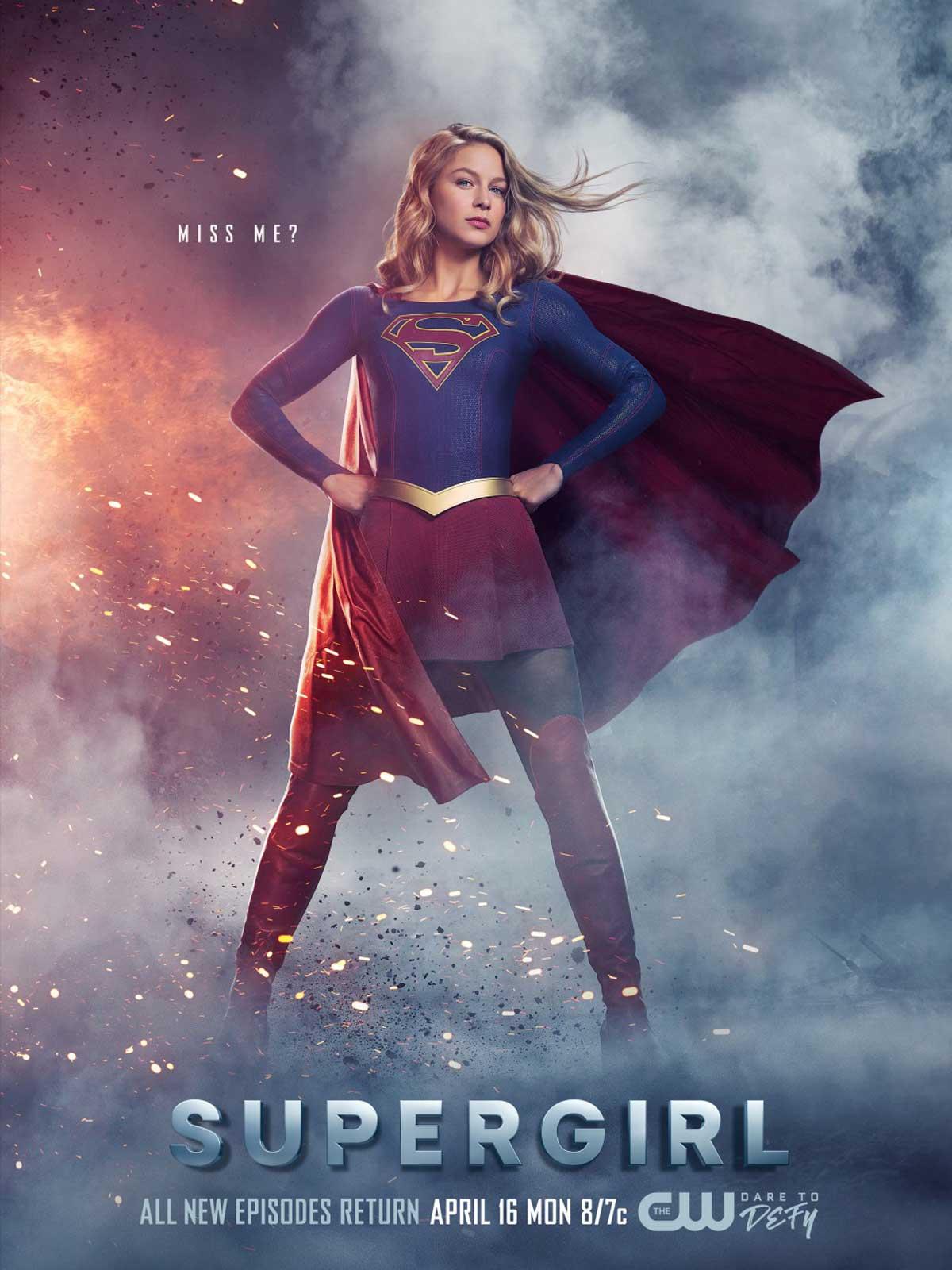 4k Hd Girl Wallpaper Supergirl S 233 Rie Tv 2015 Allocin 233