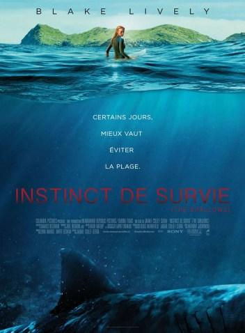 INSTINCT DE SURVIE - THE SHALLOWS : Affiche