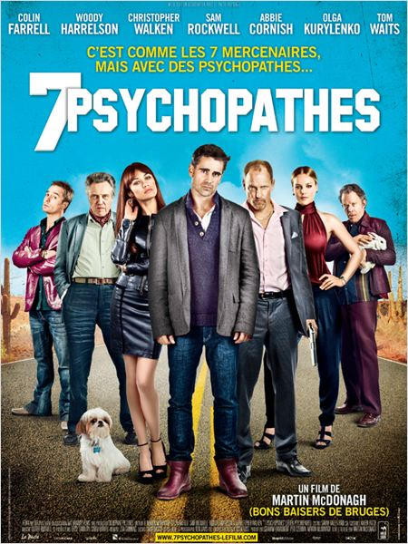 7 Psychopathes |TRUEFRENCH| [BDRip]