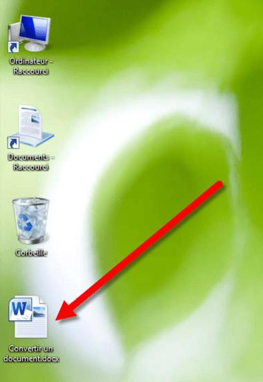 convertir le cv pdf en word
