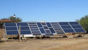 solar panels karoo