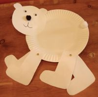 Walking Polar Bear  Day 9 National Craft Month March 2012 ...