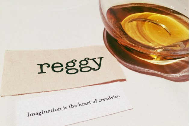 My fortune from the inspiration campaign, and some peaty scotch