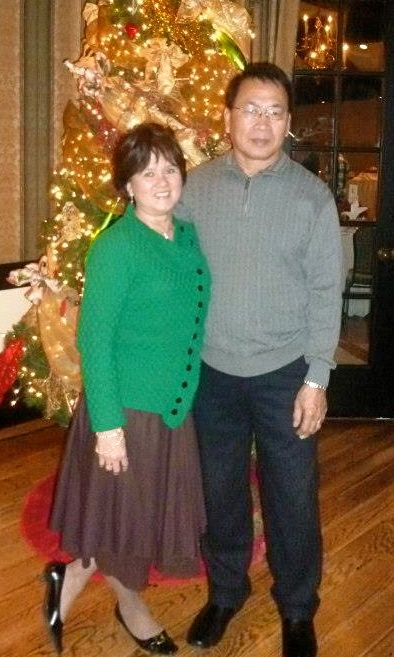 Mum & Dad at Christmas 2012