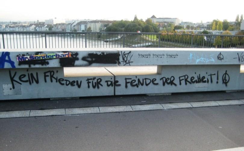 Bâle 24.10.11 kein frieden fur die feinde der freiheit