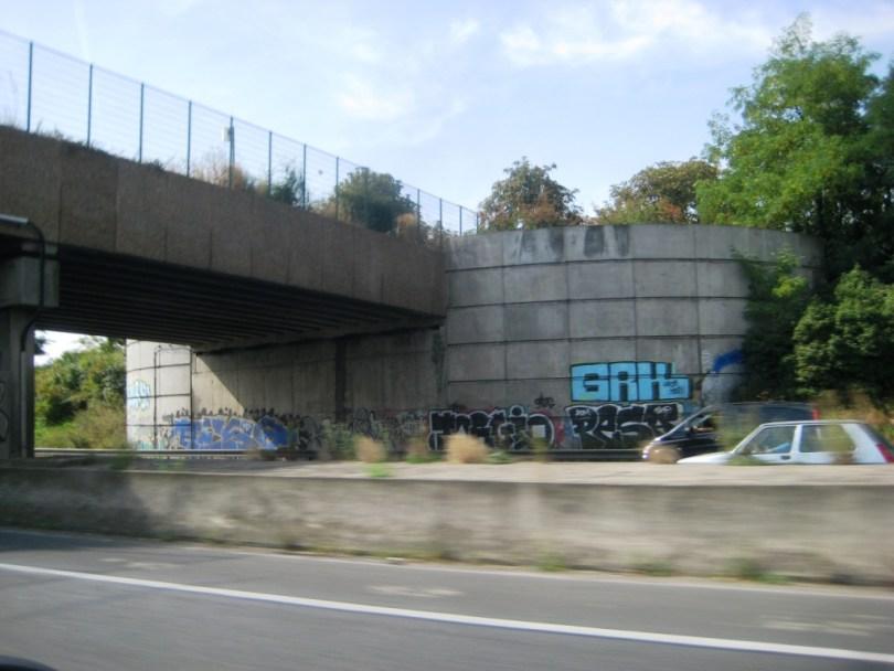 graffiti ile de france 20.08.12 GRK, Pesa, Jorgio