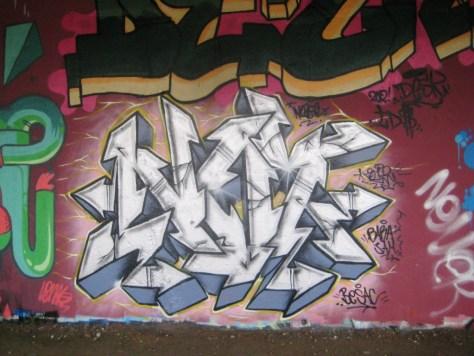 BABA JAM - graffiti - Besancon - nov 2012 - Nozer