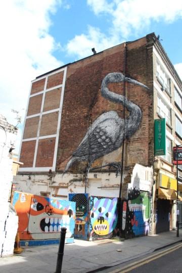 street art - Londres, UK - ROA