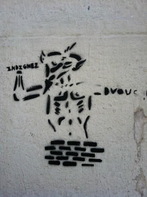 Marseille 2012 pochoi indignez-vous