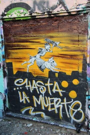 graffiti Dijon - hasta la muerte