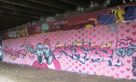 besancon - graffiti - mars 2013 - LCG, IZI, EWP