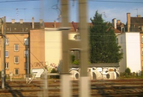 DKS, 7 crew, Vomito - graffiti - Alsace 2013
