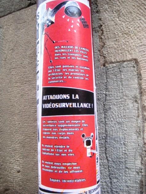 attaquon la video surveillance - affiche - besancon 2013 (1)