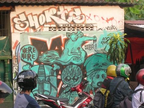 Here Here - Graffiti - ile de Java - yogyakarta - 2009 (2)