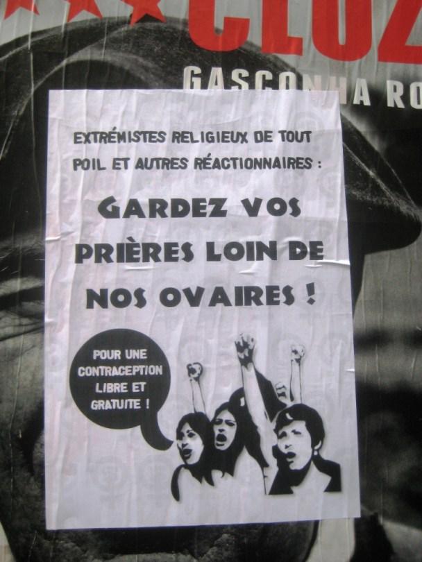 besancon.nov2013- anticlerical, féministe, contraception