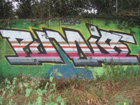 graffiti - punaise - Rennes Aout 2012