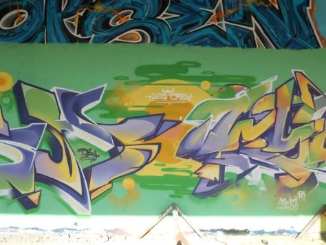 Mesh, Wyker, LCG.IZI - Besancon - Graffiti - 04.2014  (3)