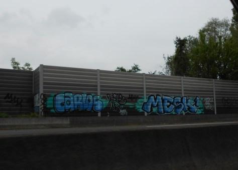 alsace, graffiti, avril 2014 Carlos, Mesk1