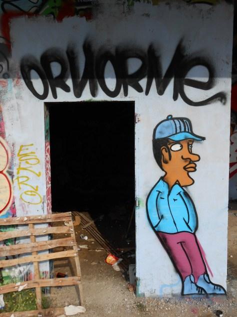besancon Ornorme - graffiti - juin.2014