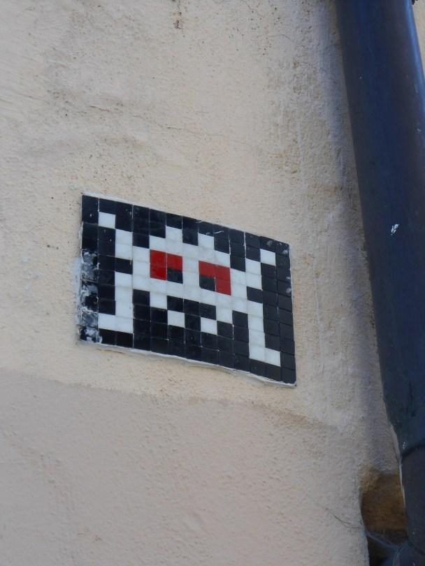collage - invader - strasbourg - 03.07.14 (1)