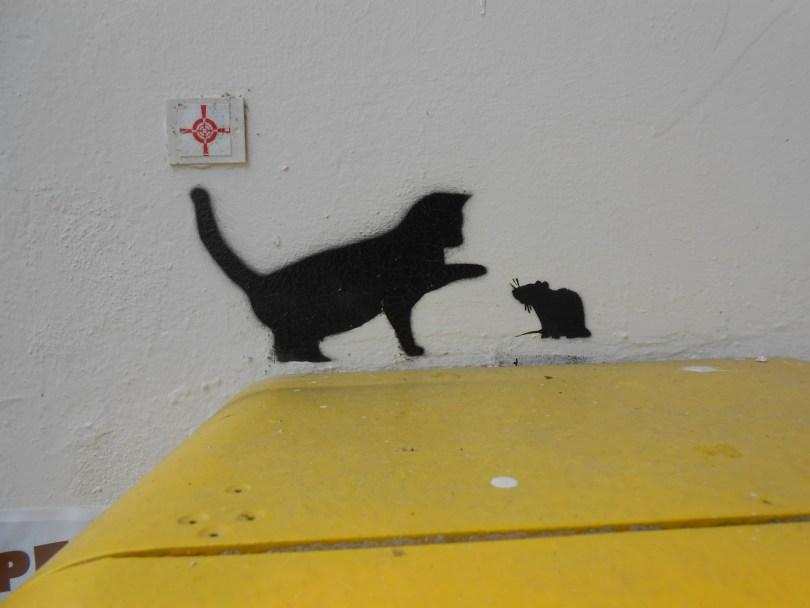 besancon - sept 2014 - stencil - cat, mouse (1)