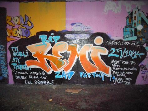 besancon - graffiti - novembre 2014_RIP REMI