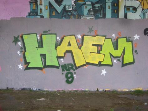 Haem - NRS - grafifiti besancon dec 2014