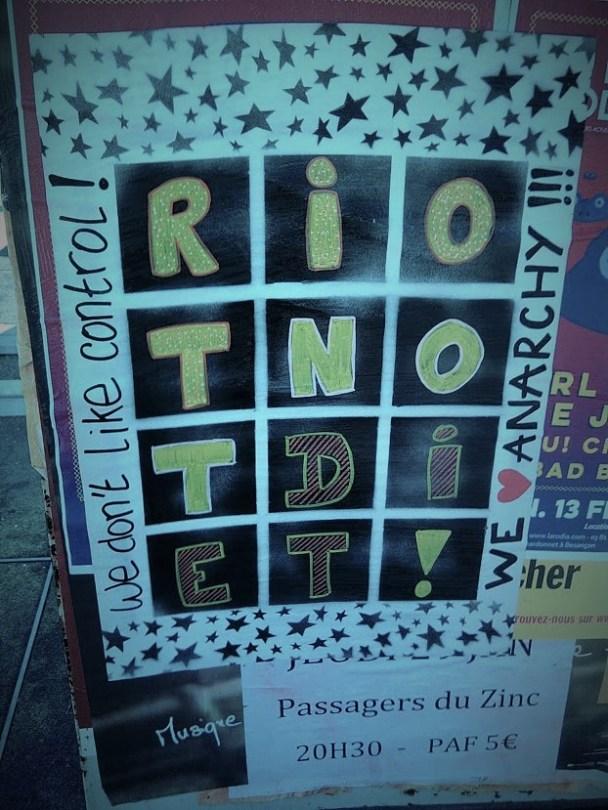 riot not diet affiche besancon 2015