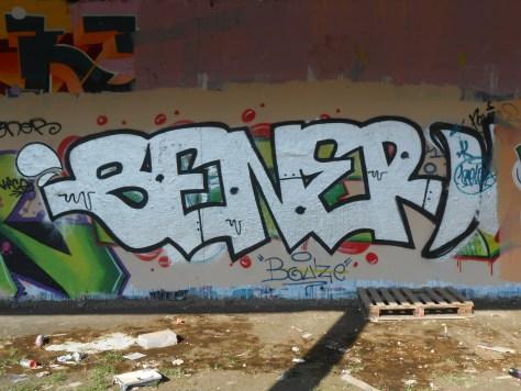 SENER - graffiti besancon mars 2015
