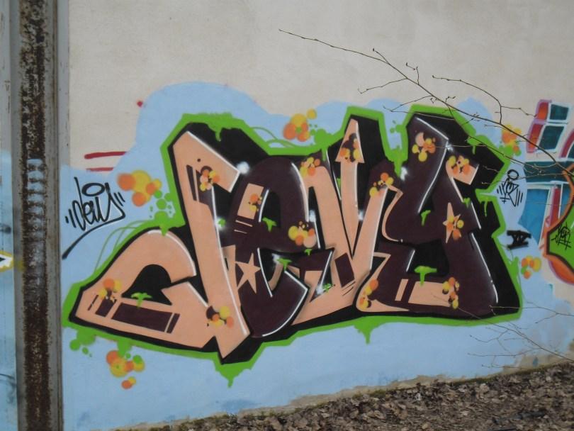 belfort graffiti VIDE