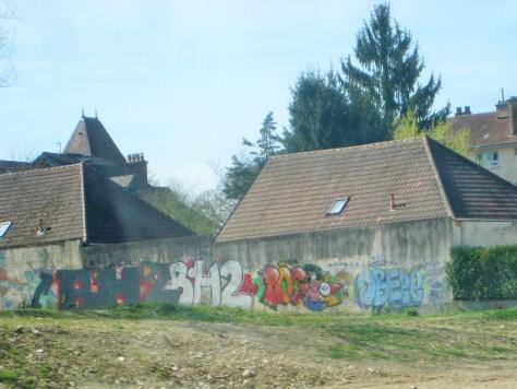 BH2, Roge, Obeze - Graffiti - Besancon 2015