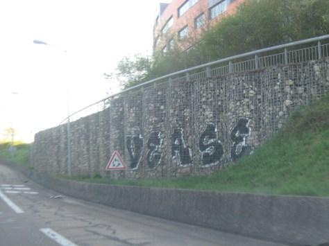 VEASE - graffiti besancon 2015