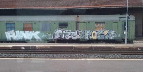 Funk, Nec, Rosie - graffiti - train - Lorraine2015 (2)