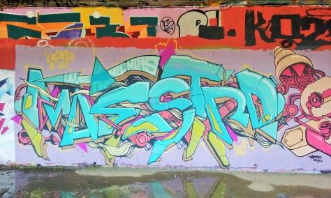 Besancon - Maestro, Soya, Basik, Eskat - graffiti 2015 (2)