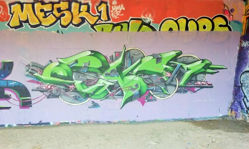 Besancon - Maestro, Soya, Basik, Eskat - graffiti 2015 (5)