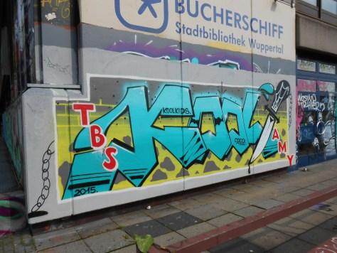 haus der jugend wupperal elberfeld - graffiti sept 2015 KoolKids (2)