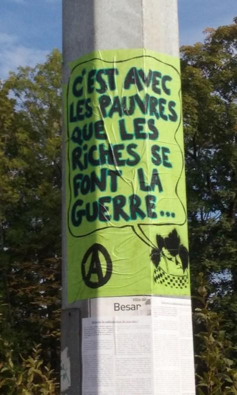 octobre 2015 besancon - affiche -pauvres riches, guerre