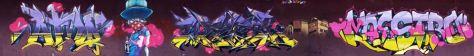 atmo, robea, wask, mstr - graffiti 2016 besancon